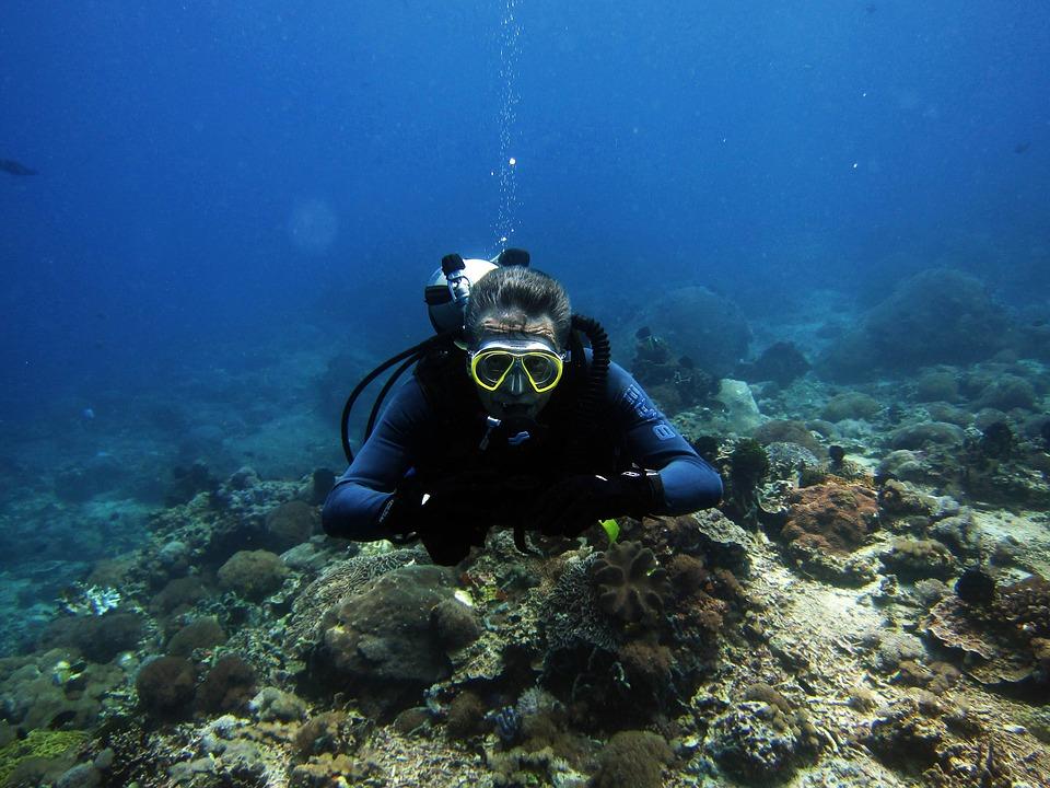 Vos vacances sportives : le diving en Indonésie