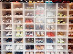 Sélection de sneakers : armoire